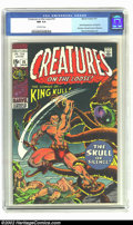 Bronze Age (1970-1979):Horror, Creatures on the Loose #10 (Marvel, 1971) CGC NM 9.4 Off-whitepages. First full appearance of King Kull. First issue. Overs...