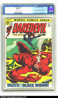 Daredevil #81 (Marvel, 1971) CGC NM 9.4 Off-white to white pages. Giant size book in fantastic condition. Black Widow be...