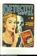 Pulps:Detective, Detective Novel nn (Thrilling Publications, July / 1947) Condition = FR. This great mystery pulp has a skull cover. It would...