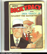 Dick Tracy & Dick Tracy Jr. #2 (Cupples & Leon, 1933) Condition: VG. Overstreet notes this book is a continuatio...