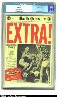 Extra! #1 Gaines File pedigree 7/12(EC, 1955) CGC NM 9.4 Off-white to white pages. Overstreet 2002 NM 9.4 value = $225...