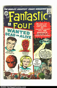 Fantastic Four #7 (Marvel, 1962) Condition = GD. Great early Silver Age Marvel featuring Human Torch, Mr. Fantastic, Inv...