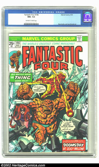 Fantastic Four #146 (Marvel, 1974) CGC NM+ 9.6 Off-white to white pages. Ross Andru and Joe Sinnott art. Overstreet 2002...