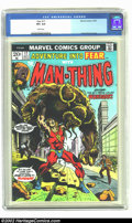 Bronze Age (1970-1979):Miscellaneous, Fear #17 (Marvel, 1973) CGC VF+ 8.5 White pages. Frank Brunnercover. Overstreet 2002 VF 8.0 value = $7; NM 9.4 value = $10....