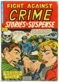 Golden Age (1938-1955):Horror, Fight Against Crime #18 (Story Comics, 1953) Condition = GD. Thisis the last crime format issue before the title switched t...