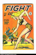 Golden Age (1938-1955):Adventure, Fight Comics #56 (Fiction House, 1948) Condition = VG. Featuring Tiger Girl. Overstreet 2002 GD 2.0 value = $22; FN 6.0 valu...