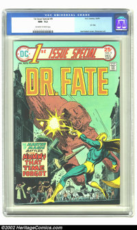 1st Issue Special #9 (DC, 1975) CGC NM- 9.2 Off-white to white pages. Joe Kubert cover, Simonson art. Overstreet 2002 NM...