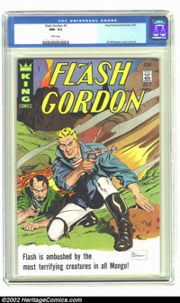 Flash Gordon #5 (King Features Syndicate, 1967) CGC NM- 9.2 White pages. Al Williamson cover and art. Overstreet 2002 NM...