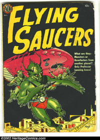Flying Saucers nn (1952) (Avon, 1952) Condition: GD. This version has the altered cover and the two extra pages of Wally...