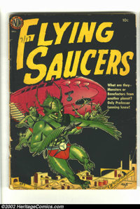 Flying Saucers nn (Avon, 1952) Condition = FR. This classic Avon sci-fi one-shot seldom turns up for sale. This copy is...