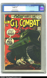 G.I. Combat #153 (DC, 1972) CGC VF/NM 9.0 Cream to off-white pages. Joe Kubert cover. Overstreet 2002 NM 9.4 value = $22...