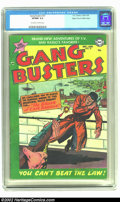 Golden Age (1938-1955):Crime, Gang Busters #37 Mile High pedigree (DC, 1954) CGC VF/NM 9.0 Off-white to white pages. Here a great chance to get a nice Mil...