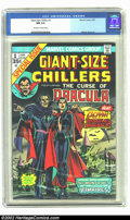 Bronze Age (1970-1979):Horror, Giant-Size Chillers #1 (Marvel, 1974) CGC NM 9.4 Off-white to whitepages. Alfredo Alcala art. Overstreet 2002 NM 9.4 value ...