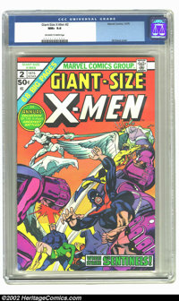 Giant-Size X-Men #2 (Marvel, 1975) CGC NM+ 9.6 Off-white to white pages. No copies graded higher by CGC. Overstreet 2002...