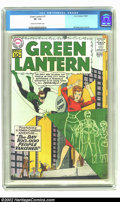 Silver Age (1956-1969):Superhero, Green Lantern #7 (DC, 1961) CGC VF- 7.5 Cream to off-white pages. Origin and first appearance of Sinestro. Overstreet 2002 V...