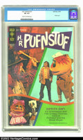 Bronze Age (1970-1979):Miscellaneous, H.R. Pufnstuf #1 (Gold Key, 1970) CGC FN 6.0 Cream to off-whitepages. Overstreet 2002 FN 6.0 value = $60....