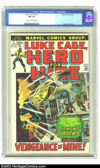 Hero for Hire #2 (Marvel, 1972) CGC NM 9.4 Cream to off-white pages. George Tuska art. Overstreet 2002 NM 9.4 value = $2...