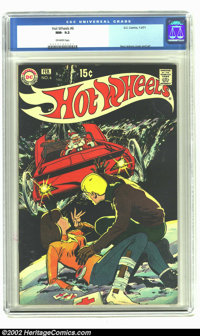 Hot Wheels #6 (DC, 1971) CGC NM- 9.2 Off-white pages. Neal Adams cover and art. Overstreet 2002 NM 9.4 value = $80