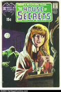 Bronze Age (1970-1979):Horror, House of Secrets #92 (DC, 1971) Condition: VG+. First appearance ofSwamp Thing. Overstreet 2002 GD 2.0 value = $48; FN 6.0 ...