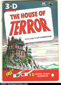 Golden Age (1938-1955):Horror, House of Terror 3D #1 (St. John, 1953) Condition: VG/FN. NoGlasses. Overstreet 2002 GD 2.0 value = $34; FN 6.0 value = $102...