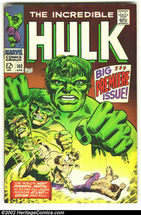 The Incredible Hulk #102 (Marvel, 1968) Condition: FN+. Overstreet 2002 FN 6.0 value = $66