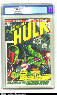 The Incredible Hulk #148 (Marvel, 1972) CGC NM+ 9.6 Off-white to white pages. Overstreet 2002 NM 9.4 value = $12