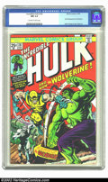 Bronze Age (1970-1979):Superhero, The Incredible Hulk #181 (Marvel, 1974) CGC NM 9.4 Off-white towhite pages. What can be said about this book that hasn't al...