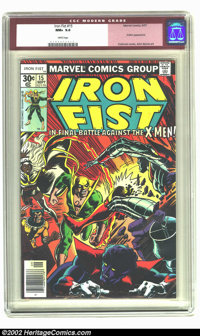 Iron Fist #15 (Marvel) CGC NM+ 9.6 White pages. X-Men appearance. Overstreet 2002 NM 9.4 value = $55