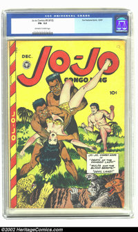 Jo-Jo Comics 9 (#10) (Fox Features Syndicate, 1947) CGC FN- 5.5 Off-white to white pages. This is a nice and tight copy...