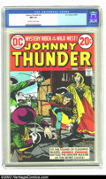 Bronze Age (1970-1979):Western, Johnny Thunder #3 (DC, 1973) CGC NM 9.4 Off-white to white pages. Overstreet 2002 NM 9.4 value = $12. ...