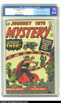 Silver Age (1956-1969):Superhero, Journey into Mystery #83 (Marvel, 1962) CGC FN 6.0 Off-white to white pages. Origin and first appearance of Thor; Jack Kirby...