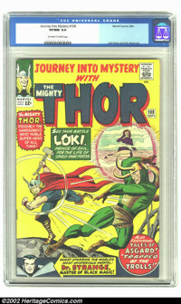 Journey into Mystery #108 (Marvel, 1964) CGC VF/NM 9.0 Off-white to white pages. Early Doctor Strange and Avengers cross...