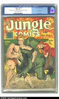 Jungle Comics #4 (Fiction House, 1940) CGC VG- 3.5 Cream to off-white pages. Nice looking early issue. Two pieces of tap...