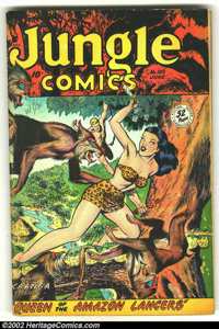Jungle Comics #102 (Fiction House, 1948) Condition: VG. Another cool Fiction House book. Overstreet 2002 GD 2.0 value =...