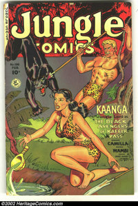 Jungle Comics #134 (Fiction House, 1951) Condition: GD/VG. Overstreet 2002 GD 2.0 value = $17; FN 6.0 value = $57