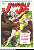 Golden Age (1938-1955):Adventure, Jungle Jo #1 (Fox, 1950) Condition: GD+. Cool first issue. Overstreet 2002 GD 2.0 value = $45....