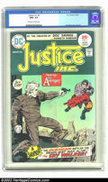 Bronze Age (1970-1979):Superhero, Justice, Inc #2 (DC, 1975) CGC NM+ 9.6 Off-white to white pages. Jack Kirby cover and art. Overstreet 2002 NM 9.4 value = $1...