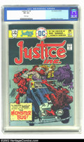 Bronze Age (1970-1979):Superhero, Justice, Inc #3 (DC, 1975) CGC VF+ 8.5 White pages. Jack Kirby cover and art. Overstreet 2002 VF 8.0 value = $7; NM 9.4 valu...