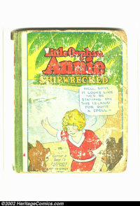 Little Orphan Annie #6 (Cupples & Leon, 1931) Condition: FR. Hardback with white pages. Overstreet 2002 GD 2.0 value...