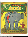 Platinum Age (1897-1937):Miscellaneous, Little Orphan Annie Pop-Up Book nn (Pleasure Books, 1935)Condition: VG+. This rare book is not listed in Overstreet orHake...