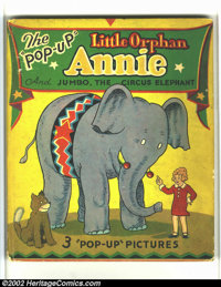 Little Orphan Annie Pop-Up Book nn (Pleasure Books, 1935) Condition: VG+. This rare book is not listed in Overstreet or...