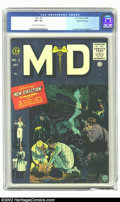 Golden Age (1938-1955):Miscellaneous, M.D. #2 Gaines File pedigree 12/12 (EC, 1955) CGC VF+ 8.5 Off-white to white pages. This may well be the most reasonably pri...