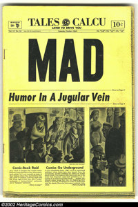 Mad #16 (EC, 1954) Condition: GD+. Overstreet 2002 GD 2.0 value = $38