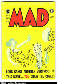 Mad #18 (EC, 1954) Condition: GD/VG. Overstreet 2002 GD 2.0 value = $48; FN 6.0 value = $143