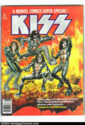 Bronze Age (1970-1979):Miscellaneous, Marvel Comics Super Special #1 featuring KISS (Marvel, 1977)Condition = VG+. Marvel Comics Super Special #1 featuring KISS ...