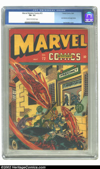 Marvel Mystery Comics #72 (Timely, 1946) CGC FN- 5.5 Cream to off-white pages. This issue features a great cover of the...