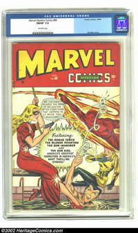 Marvel Mystery Comics #88 (Timely, 1948) CGC FN/VF 7.0 Off-white pages. Scarce later issue has a bunch of cross-overs, i...