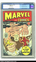Golden Age (1938-1955):Superhero, Marvel Mystery Comics #90 (Timely, 1949) CGC VF/NM 9.0 Cream to off-white pages. This is the very highest graded copy on CGC...