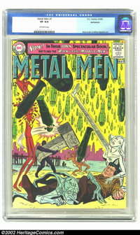 Metal Men #1 Bethlehem pedigree (DC, 1963) CGC VF 8.0 Off-white pages. of the more underrated titles in DC's expanding u...