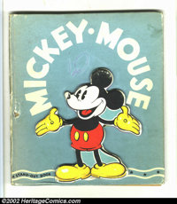 Mickey Mouse A Stand Out Book #841 (Whitman Publishing Co., 1936) Condition: GD. This rare book is not listed in Overstr...